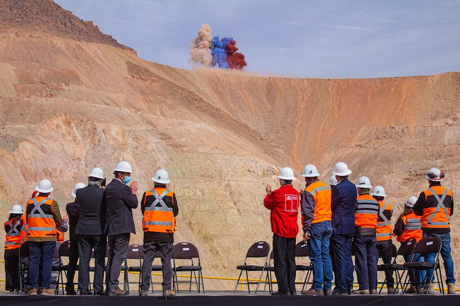 Codelco breaks ground at $1.4bn expansion of Salvador copper mine