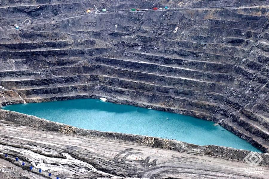 Centerra says 40 metres of water at Kumtor pit a threat to workers, environment