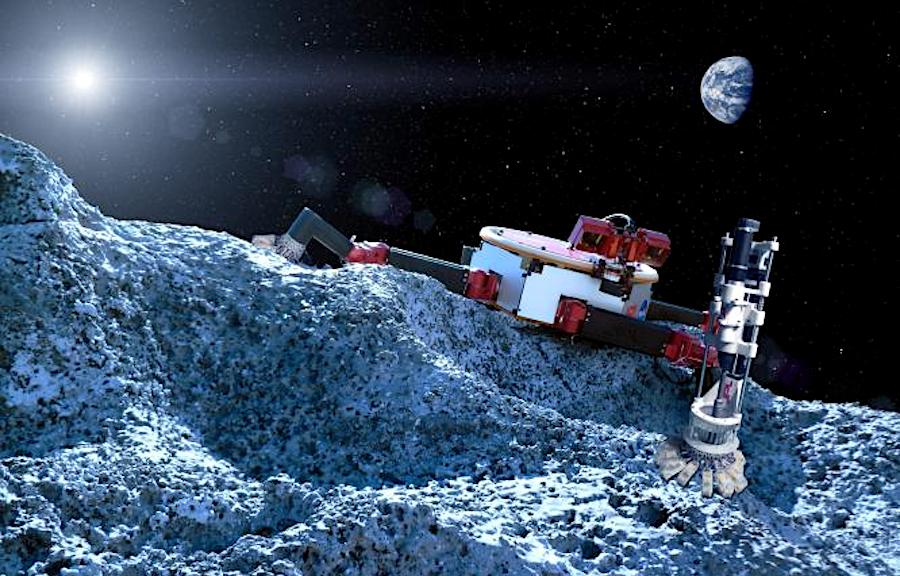 Scientist working on autonomous swarms of robots to mine the Moon