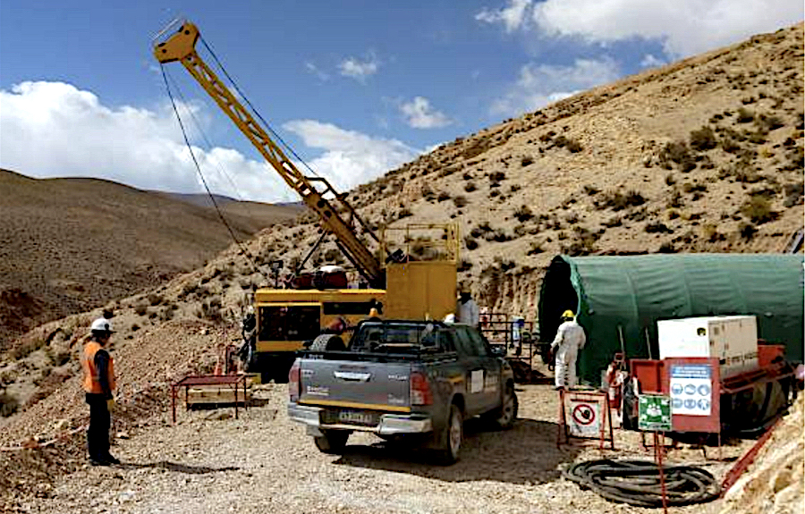 The Organullo gold project is one of the three assets AngloGold may get involved with. (Image courtesy of Latin Metals.)