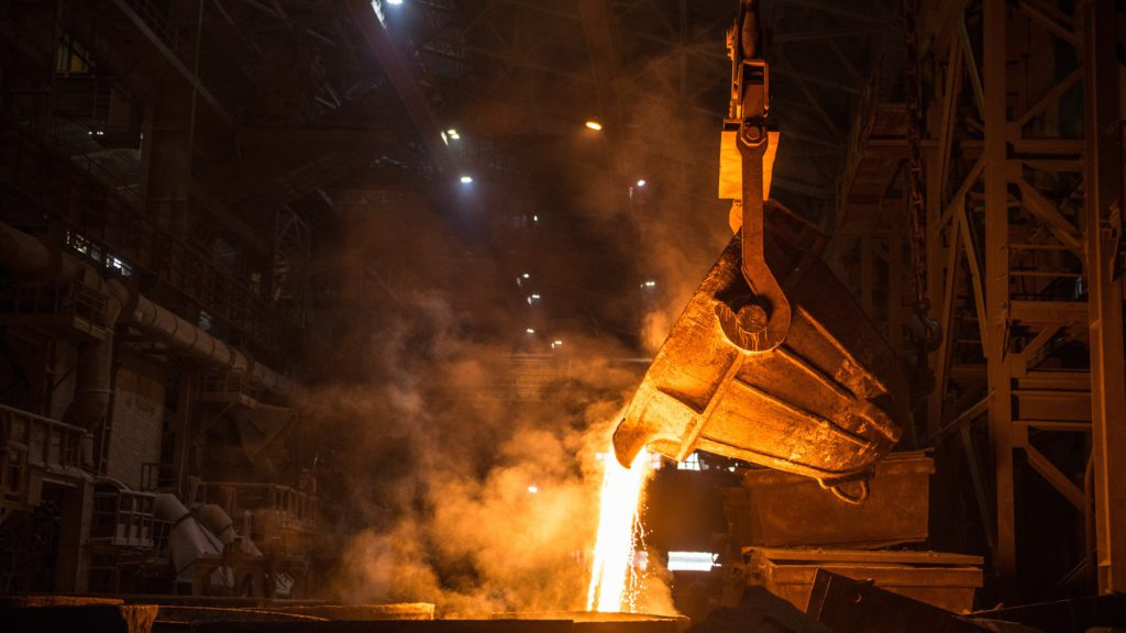 Iron ore price dives 7% on China's lower steel output data